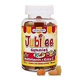 Best Tasting Vegetarian Gummy Vitamins, Kids Multivitamin, Jubilee Multivitamin Gummies With Extra Vitamin C (60 Gummies) Review