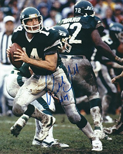 - AUTOGRAPHED Richard Todd 8X10 photo New York Jets.