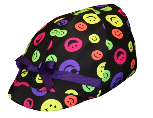 Smiley Face Bicycle Helmet Cover