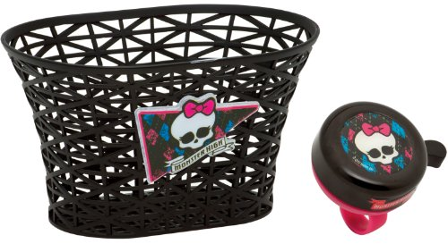 Bell Girl's Monster High Freaky Chic Basket with Bell (Monster High Scooter)