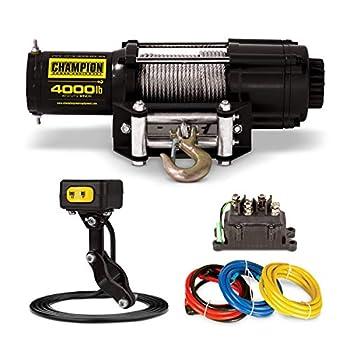 Image of Champion 4000-lb. ATV/UTV Winch Kit with Mini-Rocker ATV Winches
