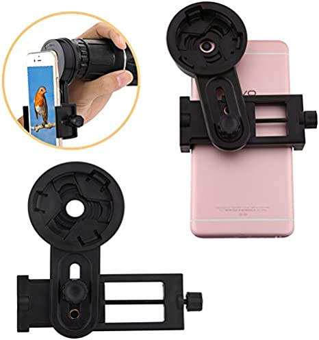 freebily Smartphone Adaptador ocular Universal Digiscoping Adapter ...