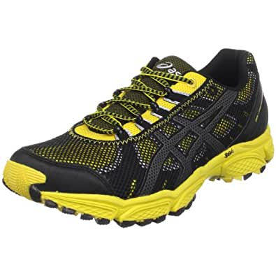 ASICS Men's GEL-Trail Attack 7 Trail Running Shoe,Bumble Bee/Silver/Black,15 M