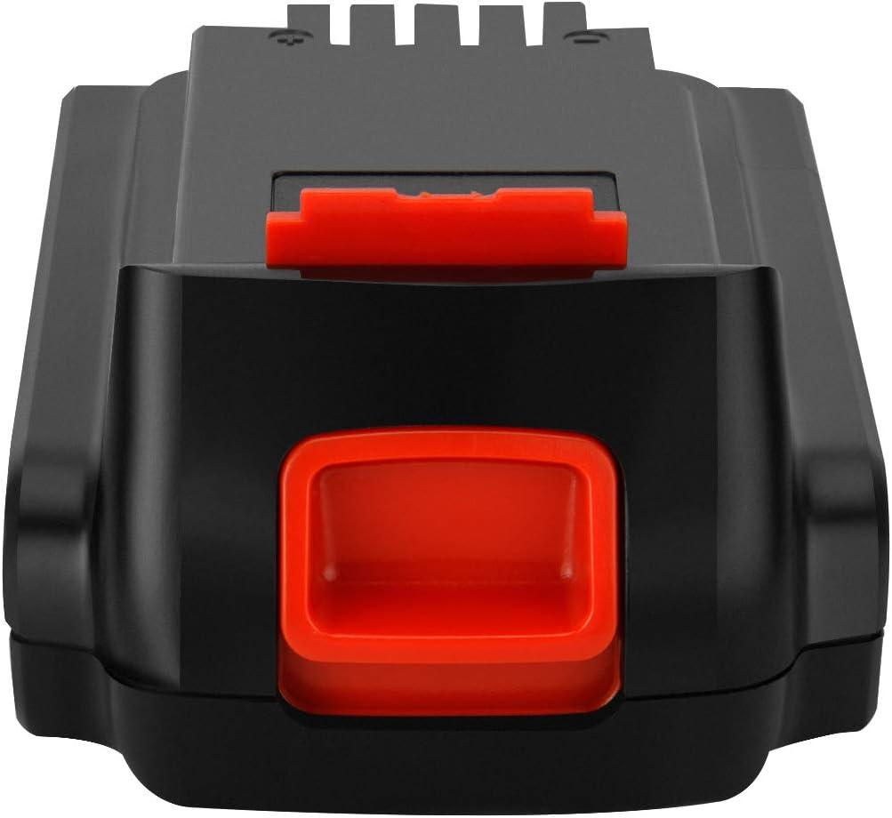Shentec 18V-20V 2.5Ah Li-ion Batterie pour Black and Decker LST220 BL2018 LBXR20 LBXR2020-OPE LB20 LBX20 BL2018-XJ GKC1825L GTC1850L20 STC1820