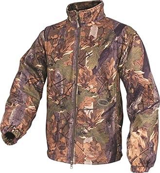 Jack Pyke Inglés polar caza chaqueta roble paloma abrigo ...