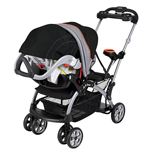 baby trend sit n stand ultra stroller millennium orange toddler transport strollers. Black Bedroom Furniture Sets. Home Design Ideas