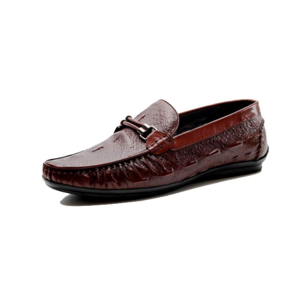 Herrenschuhe Crocodile Top Pattern Lässige Mode Niedrig Top Crocodile Schuhe Leichte Bequeme Auf Fuß WineROT 5b96ad