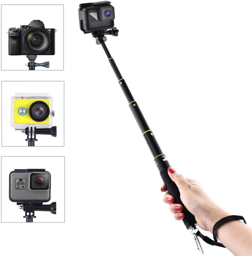 Adjustable Extension Rod Handheld Telescopic Pole Monopod for Feiyu SPG Stabilizer Gimbal with 1//4 Screws Hole Extender