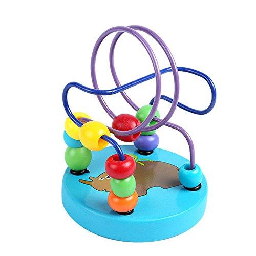 Interactive Baby Monkey Climbing Swing Entertaint Platform Fingerlings Monkey Bar Playground Stent  Blue