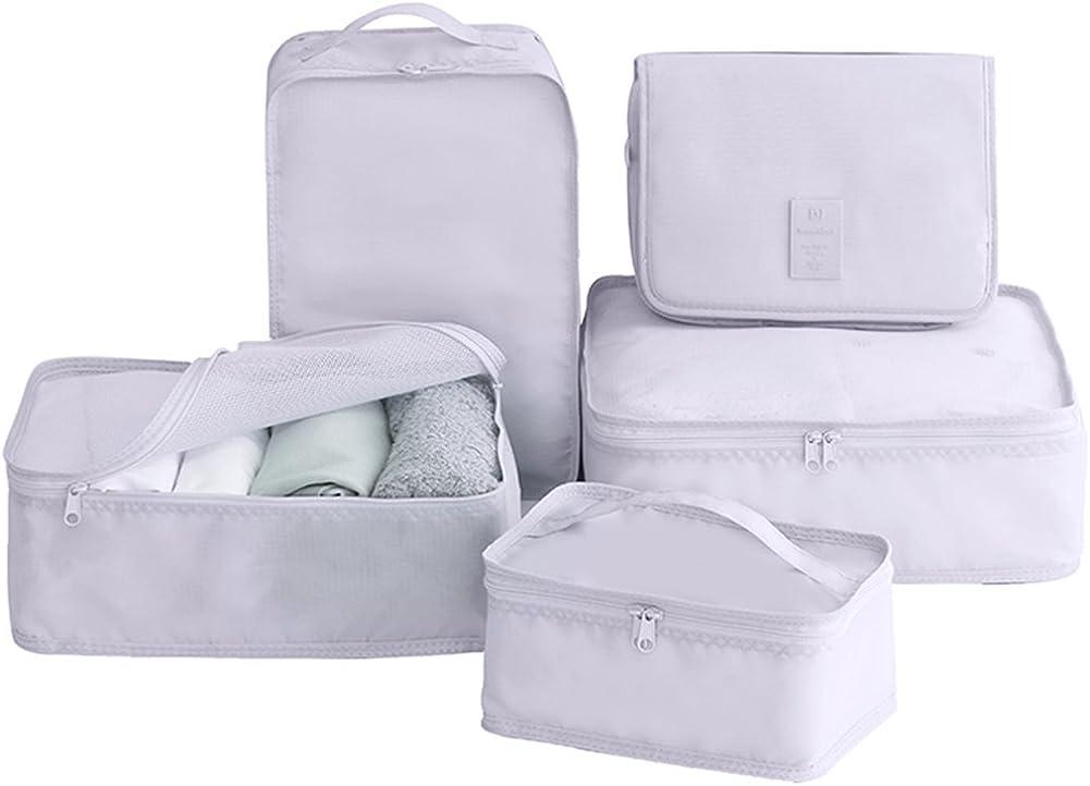 Luggage Organizers Clothes Bag 1 Large 2 Medium JJ POWER Travel Packing Cubes
