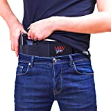 Carrygear Breathable Belly Band Holster for Concealed Carry with Thumb Break | for Men and Women | Right and Left Hand Draw