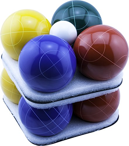 Park & Sun Sports Bocce Ball Set with Deluxe Carrying Bag: Tournament Elite, 100 mm Poly-Resin Balls by Park & Sun Sports (Image #4)