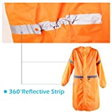 TRIWONDER Backpack Tarp Rain Cover Raincoat