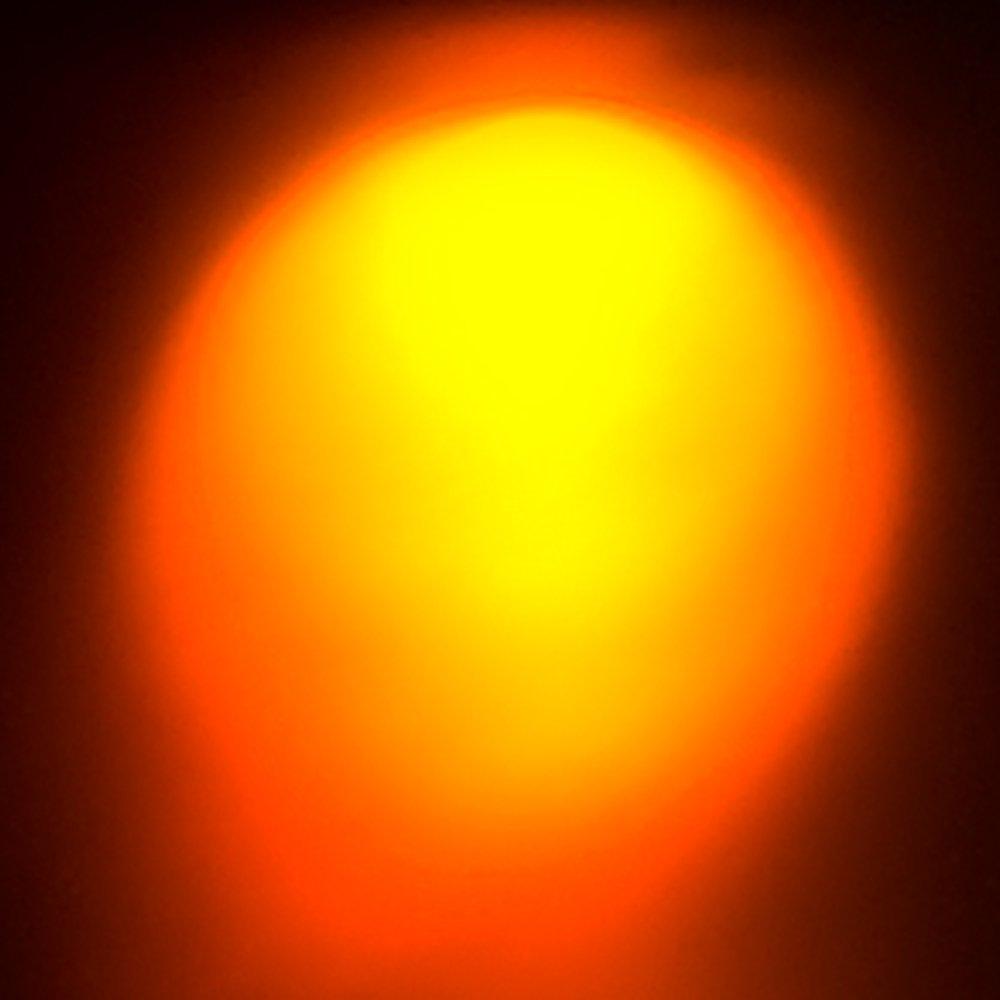 10 x Verkabelte Dioden LED Plastik Halterung Wired Orange Klare Linse 9V 3mm