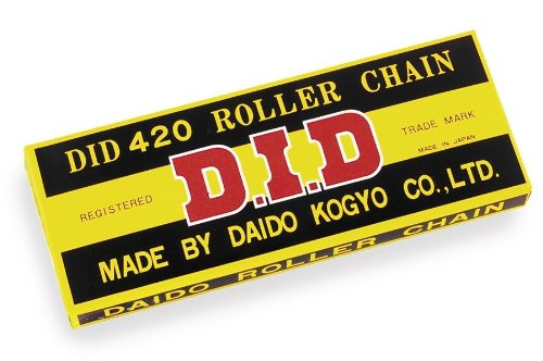 D.I.D 420STD-74 420STD-76 Steel 76-Link Standard Chain with Connecting Link
