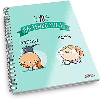 Missborderlike - Cuaderno anillas -Yo haciendo yoga ...