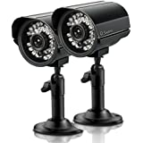 Swann Ads-180 2 Pack Indoor/Outdoor Cmos Camera SWADS-180CAM-US