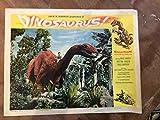 Dinosaur! vintage 1960 lobby card, 14 x 11 inches