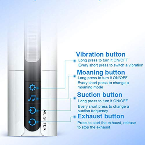 Intelligent Suction Male Moaning Interactive Heating Machine Induced Vibration Artificial Toy,Heat Smart verison by Little Sophie (Image #9)