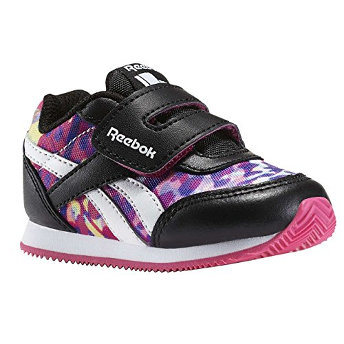 Reebok Bd4029, Zapatillas de Trail Running para Niñas Negro (Negro (Black /     Pink /     White)