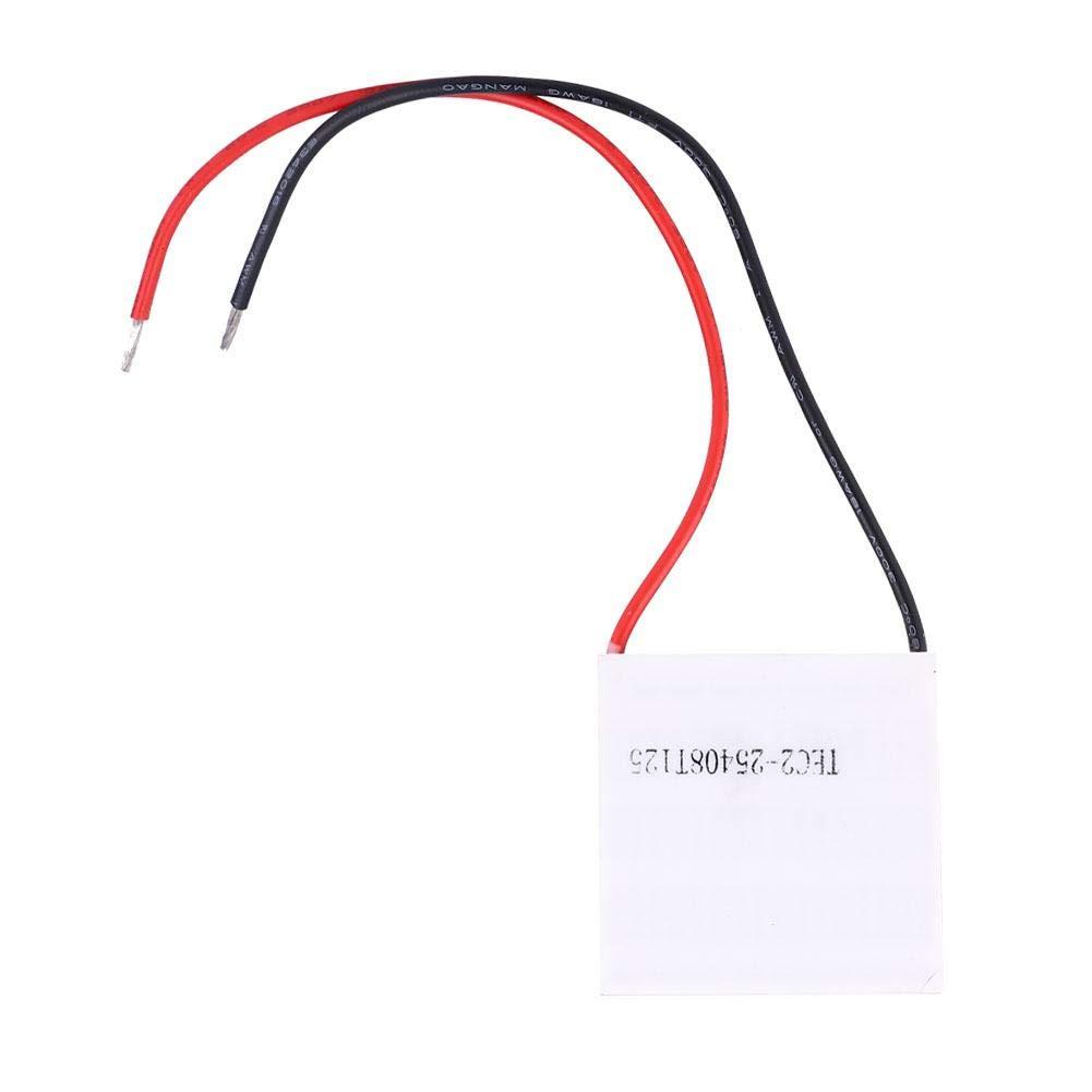 Zerone Refroidisseur /à Semi-conducteur de Feuille de Refroidissement de r/éfrig/ération de Double Couche de TEC2-25408 12V 8A