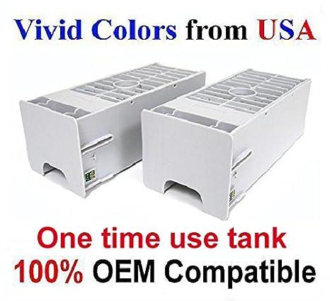 """Set of 2 maintenance tanks for Stylus Pro 7900 7890 7910 /""""Non-Epson/"""""""