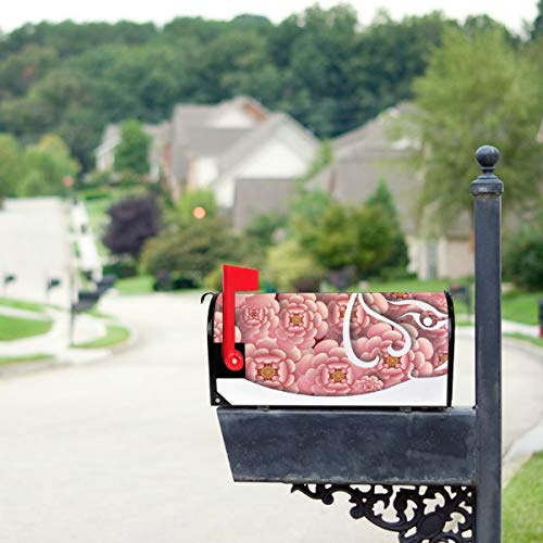 Happy New Year Twelve Chinese Zodiac Pig Mailbox Covers Standard Size Original Magnetic Mail Cover Letter Post Box 21