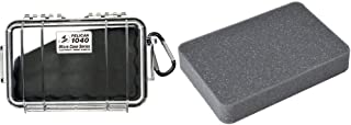 product image for Pelican 1040 Micro Case & Pelican 1042 Foam Set (Black/Clear)