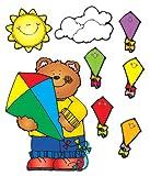 Carson Dellosa D.J. Inkers Kites Bulletin Board Set (610051)
