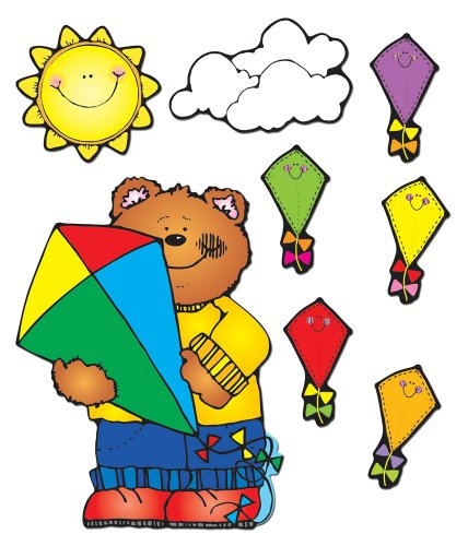 Carson Dellosa D.J. Inkers Kites Bulletin Board Set (610051)