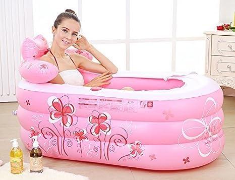 XX Badewannen-aufblasbare Wanne verdickte Erwachsene Wanne/faltende Wanne/Kinder 'S Badewanne/Badewanne/Plastikbadewanne 130 * 75 * 70 cm