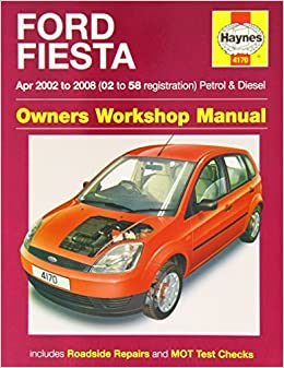 Ford Fiesta Petrol & Diesel (Apr 02 - 08) Haynes Repair Manual (Haynes Service and Repair Manuals) by Anon (2014-09-04) Paperback – 1630