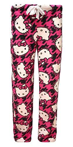 Hello Kitty Pj (Hello Kitty Superminky Fleece Sleep Pants -)