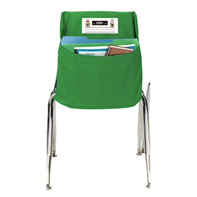Seat Sack Storage Pocket, Standard, 14 Inches, Green: Industrial & Scientific