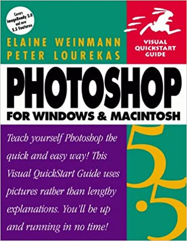 photoshop 55 for windows macintosh second edition visual quickstart guide