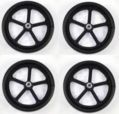 Set of Four (4) Wheels Billy Goat Leaf & Litter Vacuums 900509