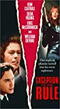 Exception to the Rule [VHS]