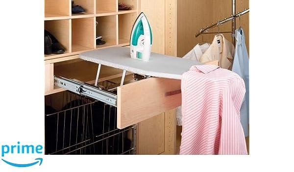 Amazon.com: Rev A Shelf Pullout Ironing Board Closet Ironging, Gray: Home U0026  Kitchen