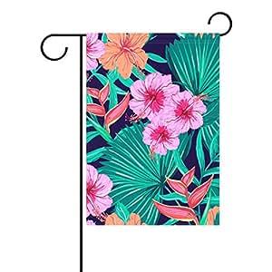 jstel casa Shutterstock _ 222053140poliéster tela jardín banderas Lovely y resistente al moho Custom de resistente al agua 12x 18inch