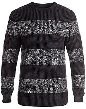 Men's Stunning Light Sweater and HDO Travel Sunscreen (15 SPF) Spray Bundle