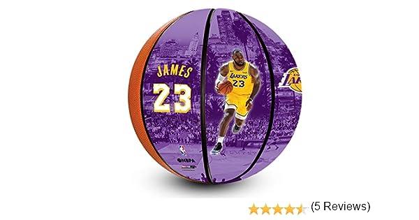 NBA Lebron James Los Angeles Lakers - Balón de Baloncesto Oficial ...