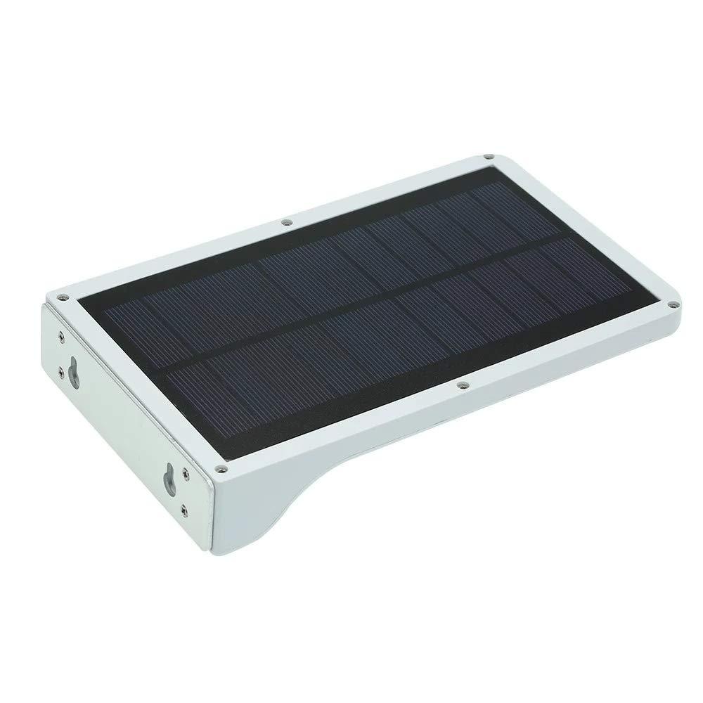 Farolas solares de movimiento Sensor ligero ultrafino inalámbrico Solar energía farolas exterior/impermeable / lámpara de pared de seguridad / 36 LEDs/Panel ...