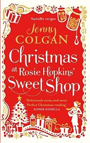 book cover of Christmas at Rosie Hopkins' Sweetshop