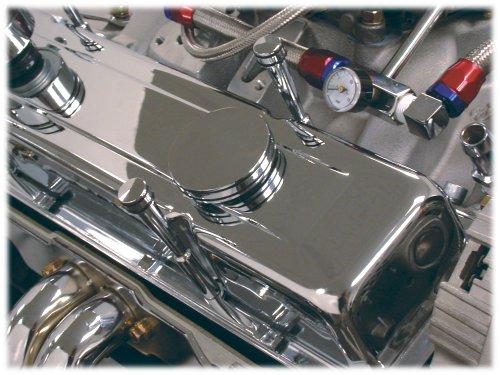 Spectre Performance 43105 Chrome O-Ring Twist Oil Cap