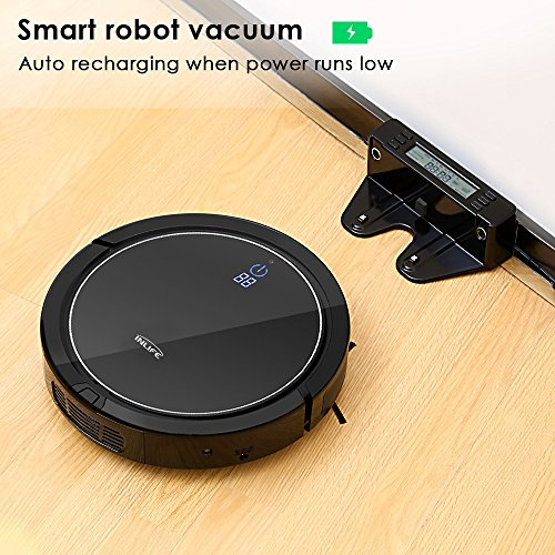 INLIFE Self Robotic Cleaner Strong Drop Technology for Hard Floor and