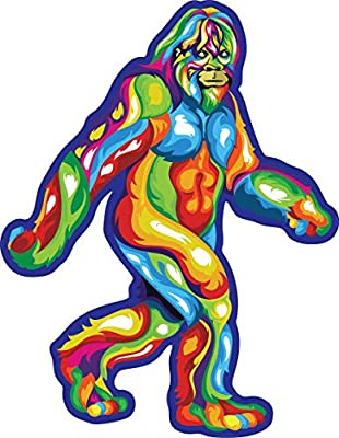 Computer XUUX Cool Sasquatch Stickers for Teen Laptop Skateboard 50pcs  Phone Big Foot Travel Case Waterproof Vinyl Decal for Water Bottle