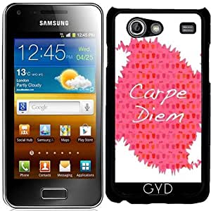 Funda para Samsung Galaxy S Advance (i9070) - Carpe Diem by Yasmina Baggili