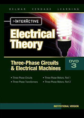3 Phase Electrical Power - Electrical Theory 3-phase Circuits and Electrical Machines Interactive Student DVD (10-13)
