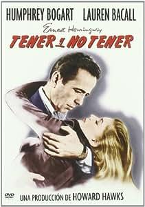 Tener Y No Tener [DVD]