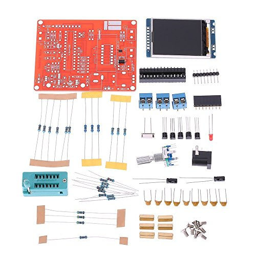 WINGONEER DIY GM328 Transistor Tester LCD Diode Capacitance ESR Voltage Frequency Meter PWM Square Wave Signal Generator (Pulse Data Generator)